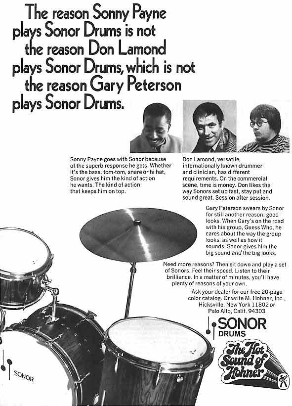 Classic Sonor Ads