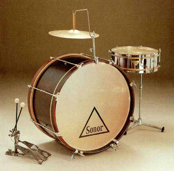 1 Vintage SONOR Bass Drum T Rod  80/'s Buy what you need!